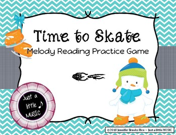 Time to Skate - Melody Reading Practice Game {sol mi}