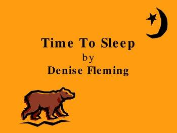 Time to Sleep PowerPoint