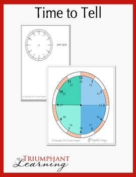Time to Tell Learn to Tell Time Game