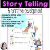 Story Telling Skills and Narrative Development Picture Cards