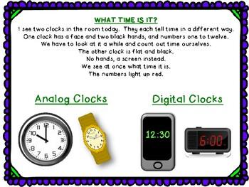 Time - Primary Grades