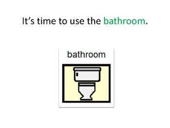 Time to Use the Bathroom