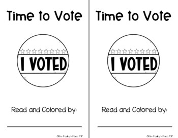 Time to Vote Emergent Reader