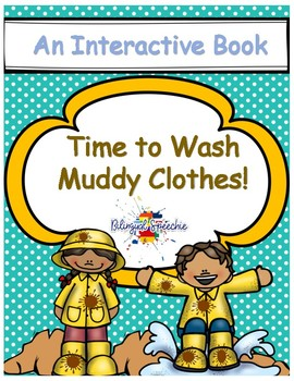 2-in-1 Spring interactive Book! Time to Wash Clothes!