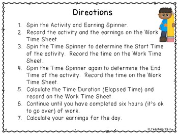 Time to Work (Elapsed Time Task)