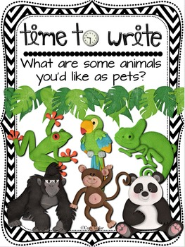 Time to Write:  Classroom Journal Notebooks for Writing