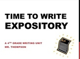 Time to Write Expository