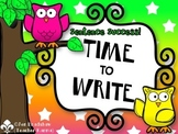 Writing Centers BUNDLE Time to Write Kit ~ From a Complete Sentence to a Story