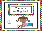Time to Write - Thematic Writing Paper Pack