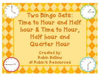 Time to hour & half hour & Time to hour, half hour & qtr hour  3 or 4 in a row
