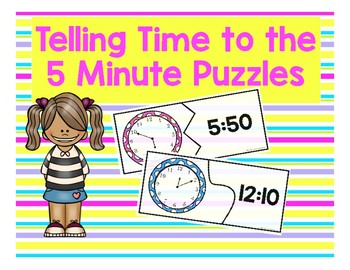 Time to the 5 Minute Puzzles