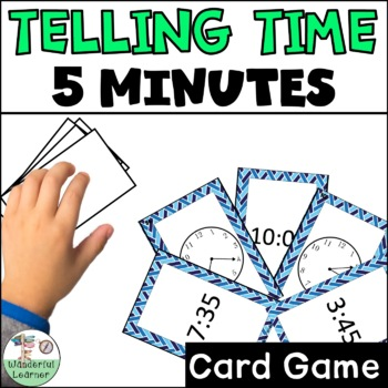 Time to the 5 minute Go Fish Review Game
