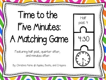Time to the Five Minutes: A Matching Game