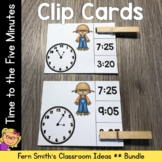 Time to the Five Minutes Clip Cards October Bundle