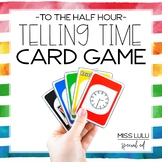 Time to the Half Hour Card Game