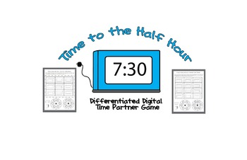 Time to the Half Hour Digital Differentiated Partner Game Center