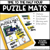 Time to the Half Hour, Telling Time First Grade, Second Gr