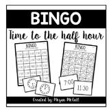 Time to the Half hour BINGO