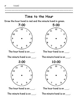 Time to the Hour
