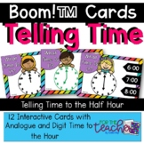 Time to the Hour {Boom Cards}