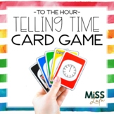 Time to the Hour Card Game