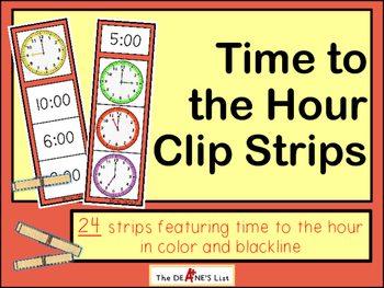 Time to the Hour Clip Strips