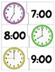 Time to the Hour Clock Puzzles [Freebie!]