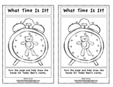 Time to the Hour-Emergent Reader for Kindergarten and First Grade