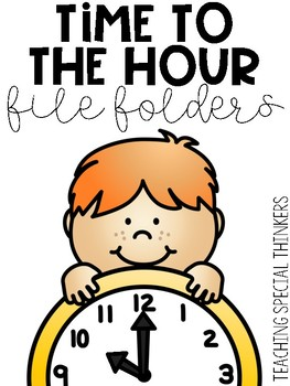 Time to the Hour File Folders