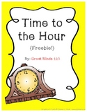 Time to the Hour {Freebie!}