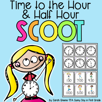 Time to the Hour & Half Hour Scoot!