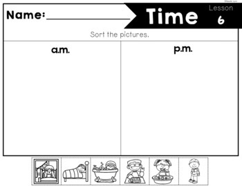 Time to the Hour: Kindergarten Guided Math