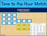 Time to the Hour Match FREEBIE!