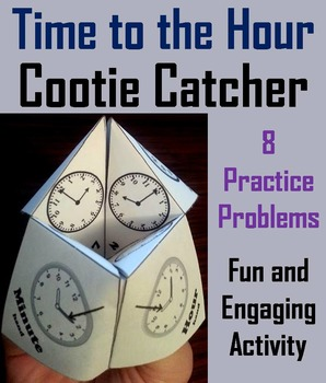 Telling Time to the Hour Activity/ Telling Time to the Hour Game