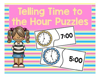 Time to the Hour Puzzles