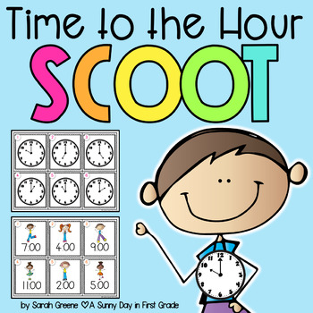 Time to the Hour Scoot {2 games!}