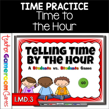 Time to the Hour - Student vs Student Powerpoint Game