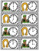 Time Task Cards St. Patrick's Day Theme Common Core