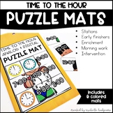 Time to the Hour, Telling Time First Grade, Second Grade M