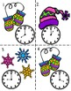 Time to the Hour Winter Activities, Print and Go! Common Core