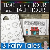 Time to the Hour and Half Hour Printable Distance Learning