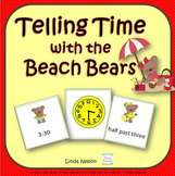 Time to the Hour and Half Hour: Summer Beach Bears