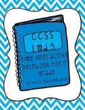 Time to the Hour and Half-Hour Interactive Notebook by The