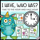 Time to the Hour and Half-hour - An I Have, Who Has? Game