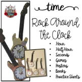 Time to the Hour and Time to the Half Hour {Rock Around the Clock}