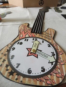 Time:  Hour Half Hour and Seconds {Rock Around the Clock}