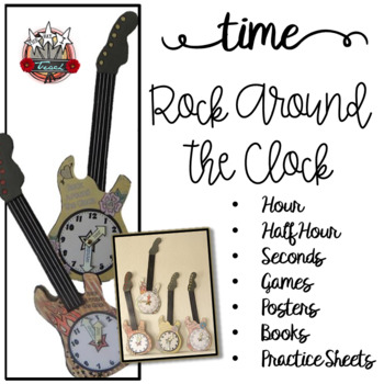 Time to the Hour and Time to the Half Hour {Rock Around th