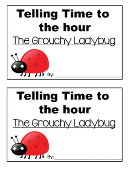 Time to the Hour with theGrouchy Ladybug