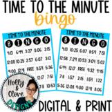 Time to the Minute BINGO - Digital & Print Versions - NO PREP Game