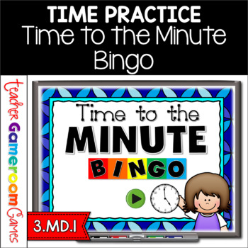 Time to the Minute Bingo Powerpoint Game